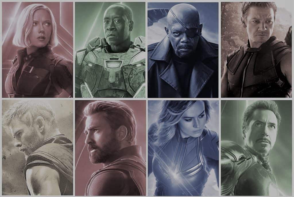 Avengers Endgame Heroes (Edit)